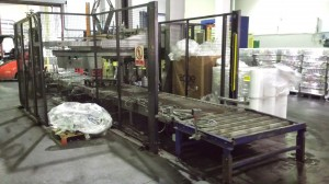Production line maintenance